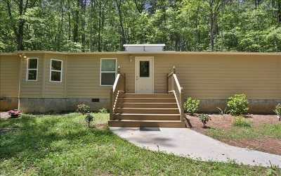 Ellijay Single Family Home For Sale: 164 Peppermint Lane