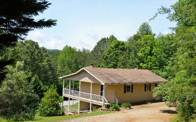 Hiawassee Single Family Home For Sale: 1419 Berrong Road