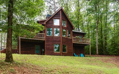 Ellijay GA Single Family Home For Sale: $236,400
