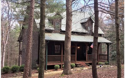 Ellijay Single Family Home For Sale: 76 Lakeview Lane