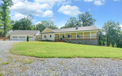 Hiawassee Single Family Home For Sale: 2150 Carlin Road