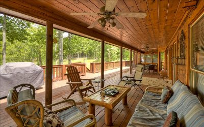 Ellijay Single Family Home For Sale: 4852 Chatsworth Hwy