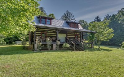 Cherry Log Single Family Home For Sale: 5848 Rock Creek Road