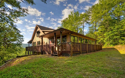 Blue Ridge Single Family Home For Sale: 213 East Overbend Trail