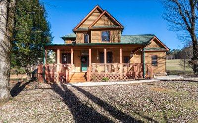 Ellijay Single Family Home For Sale: 95 Deer Lake Drive