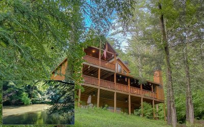 Gilmer County Single Family Home For Sale: 280 Clark Trail