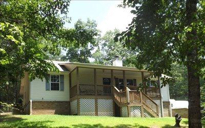 Blairsville Single Family Home For Sale: 288 Lori Lane