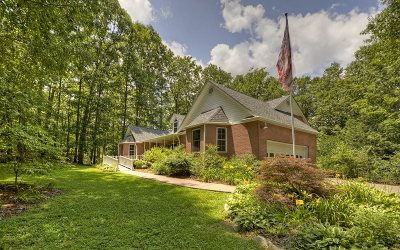 Blue Ridge Single Family Home For Sale: 80 Sowers Road