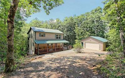 Blairsville Single Family Home For Sale: 383 Cedar Mountain View