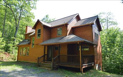 Towns County Single Family Home For Sale: 18 Mountain Chapel