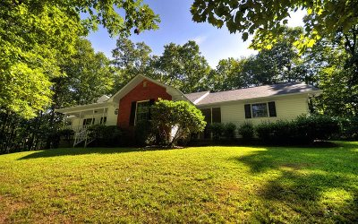 Blue Ridge Single Family Home For Sale: 35 White Oak Drive