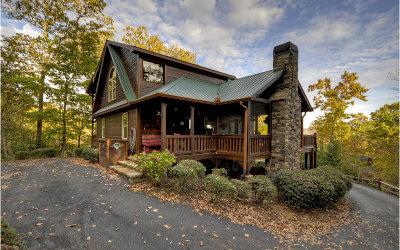 Blue Ridge Single Family Home For Sale: 200 Fox Mountain Crossin