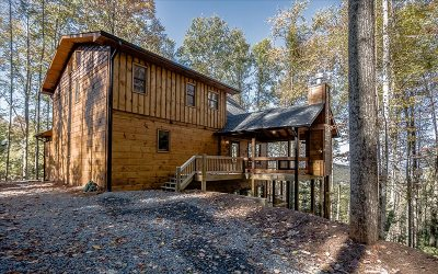 Blue Ridge Single Family Home For Sale: Lt 17 Aska's Grand Vista