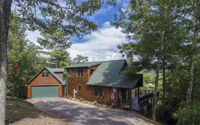 Blue Ridge Single Family Home For Sale: 270 Sequoyah Ridge