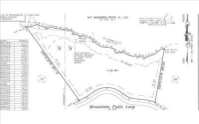 Ellijay Residential Lots & Land For Sale: Lot 10 & 11 Mountain