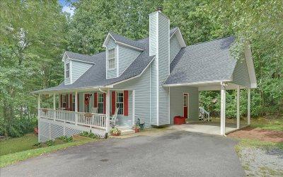 Ellijay Single Family Home For Sale: 44 Hickory Ridge Drive