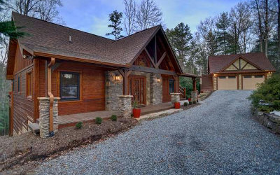 Blue Ridge Single Family Home For Sale: 930 Power Dam Road