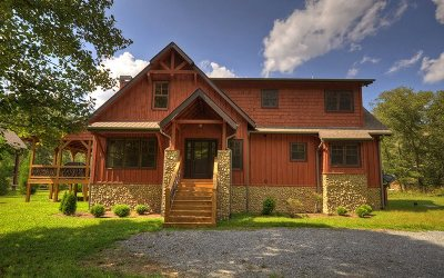 Blue Ridge Single Family Home For Sale: 1925 Hogback Drive