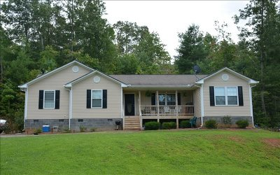 Blue Ridge Single Family Home For Sale: 5 Pinetree Drive