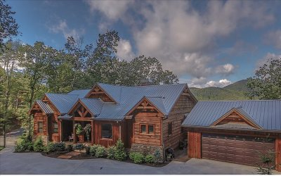 Blue Ridge Single Family Home For Sale: 265 Covered Bridge Lane