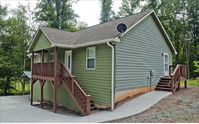 Hayesville Single Family Home For Sale: 160 Hole In One Drive