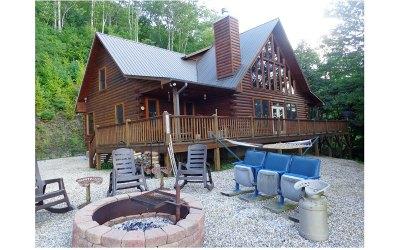 Topton Single Family Home For Sale: 830 Noon Day Sun Ridge