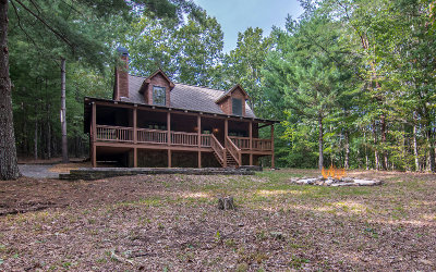Ellijay GA Single Family Home For Sale: $199,750