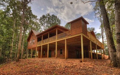 Ellijay GA Single Family Home For Sale: $329,777