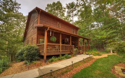 Ellijay GA Single Family Home For Sale: $224,777