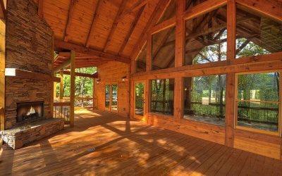 Blue Ridge Single Family Home For Sale: 3420 Aska Rd