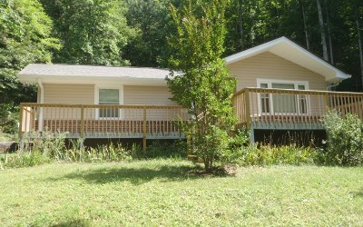Hayesville Single Family Home For Sale: 2472 Cold Branch Rd