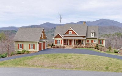 Hiawassee GA Single Family Home For Sale: $528,900