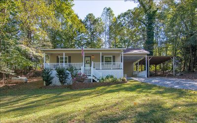 Ellijay Single Family Home For Sale: 38 Walnut Ridge Lane