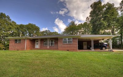Blue Ridge Single Family Home For Sale: 2577 Old Hwy 5