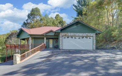 Hiawassee Single Family Home For Sale: 4160 Ridge Crest Trail
