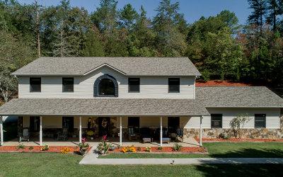 Blue Ridge Single Family Home For Sale: 114 Fox Trail