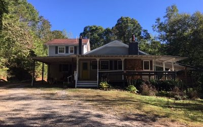 Blairsville Single Family Home For Sale: 72 Craig Gap School Rd