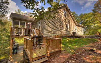 Ellijay Single Family Home For Sale: 150 Pocaset Drive