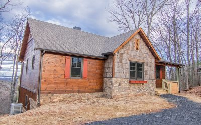Blue Ridge Single Family Home For Sale: 401 Sunrock Mountain Tr