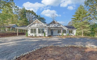 Blairsville Single Family Home For Sale: 800 Eagle Bend Rd