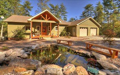 Ellijay Single Family Home For Sale: 405 Harrison Sluder Rd