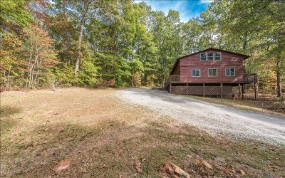 Blue Ridge Single Family Home For Sale: 80 Hamby