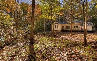 Ellijay Single Family Home For Sale: 665 Redwood Dr./Shelia L