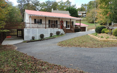 Hiawassee Single Family Home For Sale: 590 Sunnyside Shores Rd