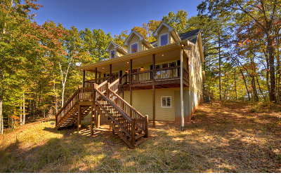 Blue Ridge Single Family Home For Sale: 212 Cascade Ln