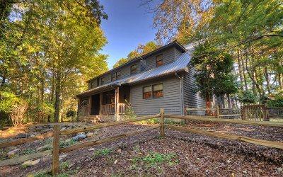 Ellijay Single Family Home For Sale: 311 Blackberry Falls Dr