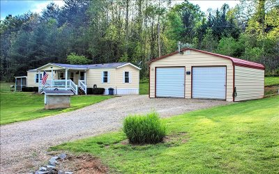 McCaysville Single Family Home For Sale: 2734 Mountain View Road