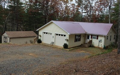 Blairsville Single Family Home For Sale: 24 Home Place Spur