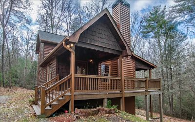 Blue Ridge Single Family Home For Sale: 307 Bent Wood Lane