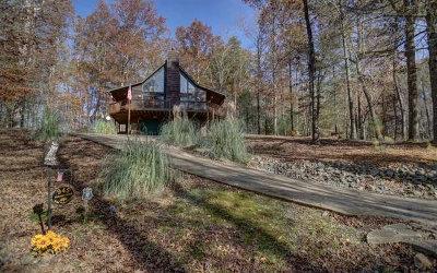 Ellijay Single Family Home For Sale: 945 Faraday Dr